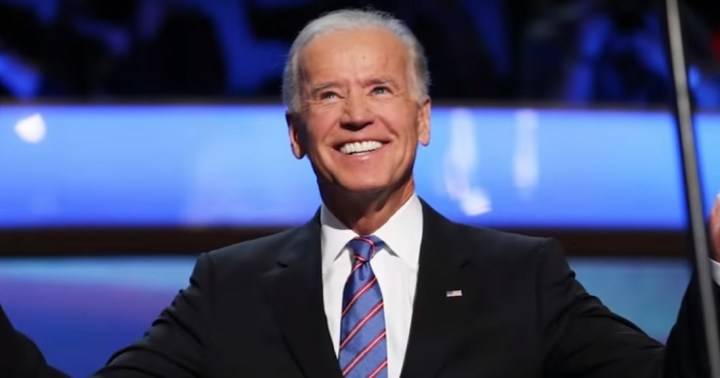 Biden clone or real biden with hanging ear lobes
