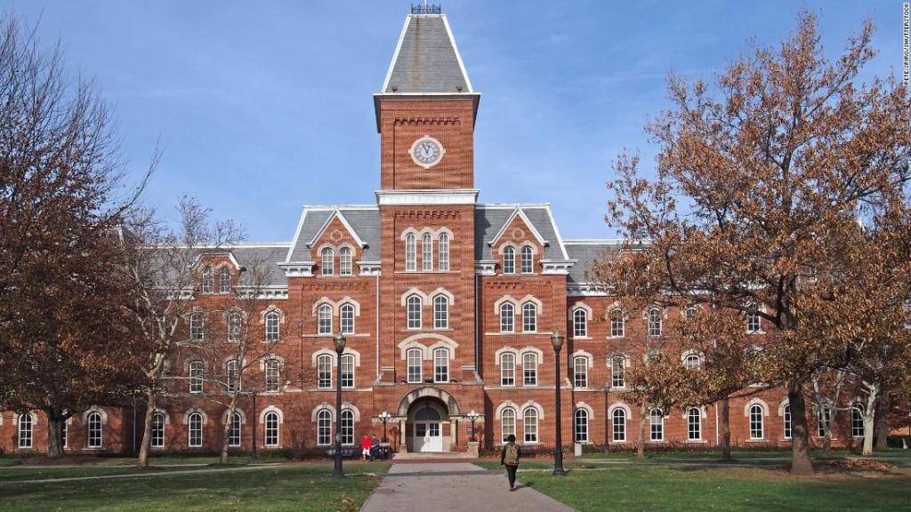 Ohio State University announces Mandatory Covid testing
