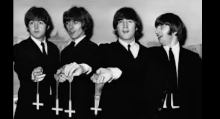 """freemasons and the illuminati. Beatles were freemasons. Hollywood actors, politicians, news reporters, famous musicians, authors and other famous people are freemasons. These people are puppets of """"the elite."""" In exchange for their obedience, they're rewarded with fame and fortune by their masters."""