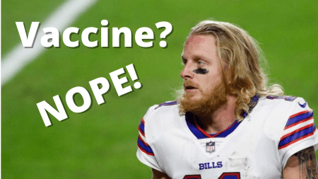 NFL player Cole Beasley refuses covid vaccine
