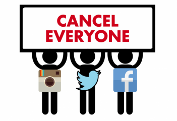 Cancel culture refers to the popular practice of withdrawing support for (canceling) public figures and companies after they have done or said something considered objectionable or offensive. Cancel culture is generally discussed as being performed on social media in the form of group shaming.