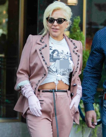 pedophilia symbolism is everywhere. Lady Gaga has been parading around with a very graphic Disney shirt showing very graphic sexual acts with Snow White and the seven dwarfs. Is anything said about it by Disney? No. All in plain sight my friends.