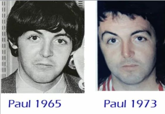 clones and look alikes. the real Paul was killed in a car accident in 1966 and replaced by a lookalike named William Shears Campbell (Billy Shears.)