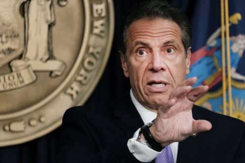 Governor Cuomo resigns today over a barrage of sexual harassment allegations - Tuesday, August 10, 2021.