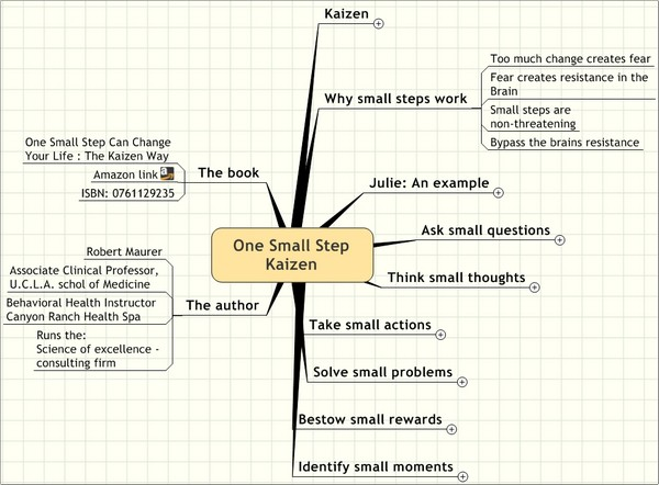 One Small Step Kaizen