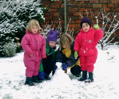 Christmas 2000 snow