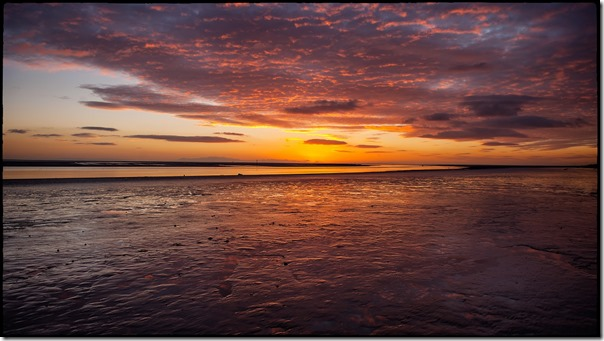 08 timelapse Lytham St Annes Lancshire pier wood wooden setting sun sea reflection lee ramsden photography photographer