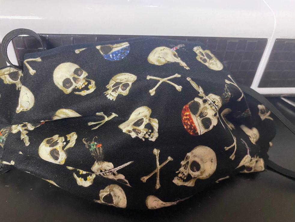 Pirates Face Mask (Crossbones and Skulls Face Mask)