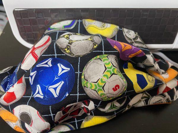 Soccer Face Mask - Soccer Ball Face Mask #Soccer