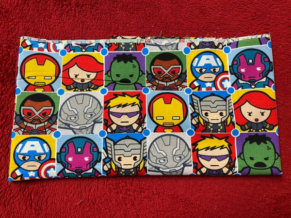 Marvel Characters Fabric Based on the CP62572 Character Tiles fabric.