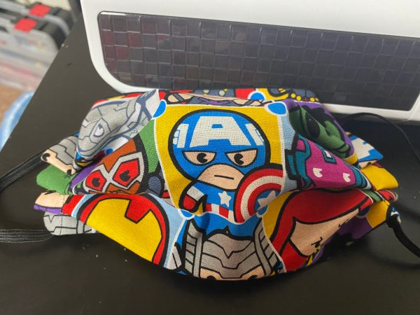 Marvel Characters Face Mask #Marvel