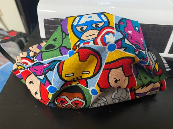 Marvel Characters Face Mask