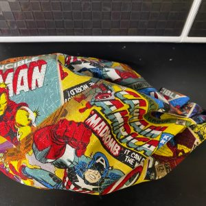 Marvel Comic Book Face Mask a face mask that features some of the Marvel Comic Books. #Marvel #MarvelComics