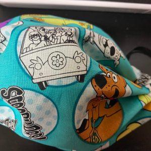 Scooby-Doo Face Mask - The Mystery Machne along with the Scooby-Doo Gang all in a face mask. #ScoobyDoo #Scooby