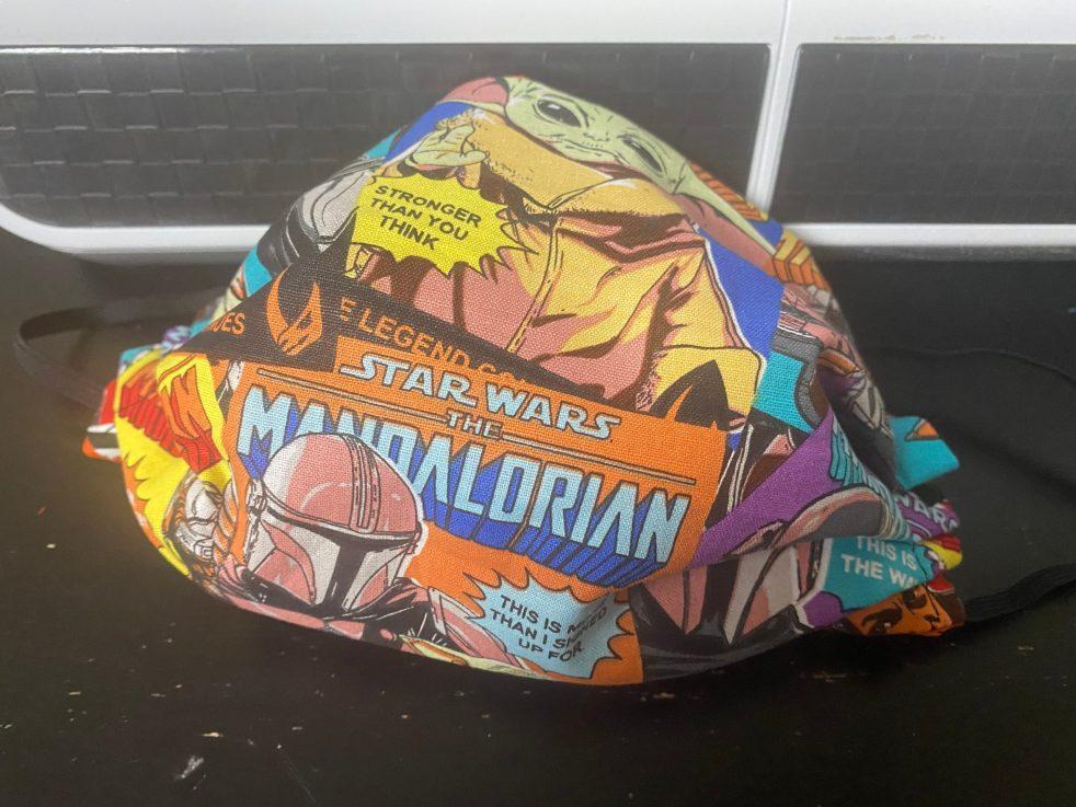 Star Wars Mandalorian Comic Posters - a Comic Book theme with Star Wars Mandalorian on it. #Mandalorian
