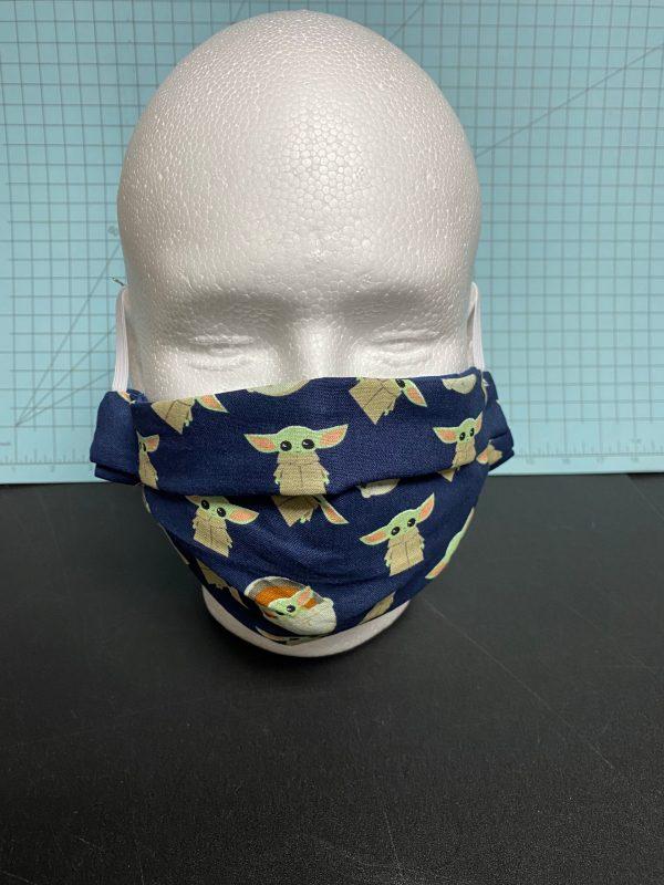 Baby Yoda Face Mask #BabyYoda - The Child Face Mask #TheChild #Grogu Face Mask #Grogu #Mandalorian