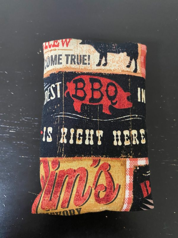 BBQ Pocket Tissue Holder - Keep your tissues in this BBQ Pocket Tissue Holder. #BBQ