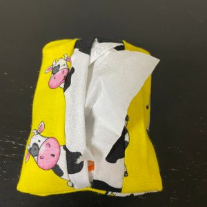 Holstein Cow Pocket Tissue Holder - This Holstein cow can hold those pocket tissue packets for you. #Cows #HolsteinCows