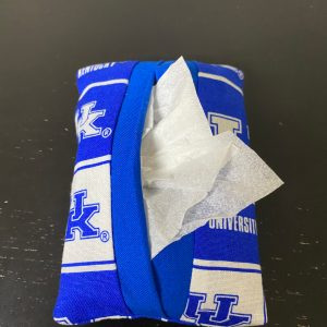 University of Kentucky Pocket Tissue Holder - a pocket tissue holder for those Kentucky Wildcat fans. #Kentucky #Wildcats