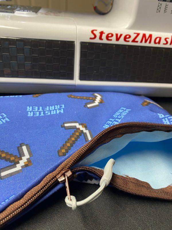 Master Crafter Mindcraft Zipper Pouch - #Mindcraft #MasterCrafter