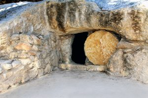 Empty Tomb Easter Morning