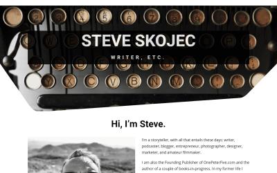 The New Website is a Work in Progress