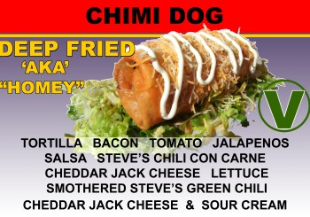Steve's Snappin Dogs Chimi Dog