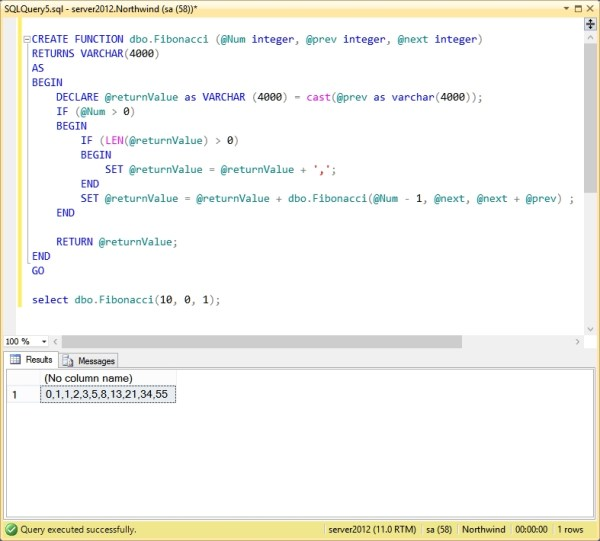 sql how to create function # 6