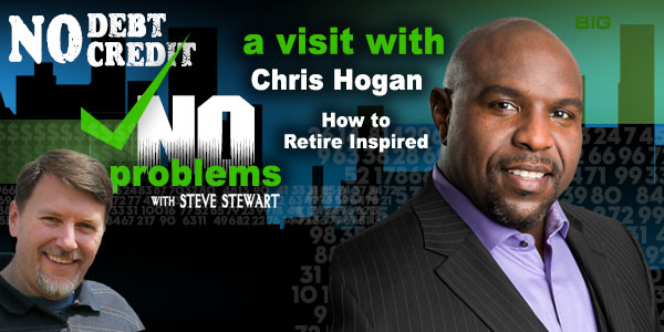 Chris Hogan, Dave Ramsey speaker, interview on Steve Stewart podcast