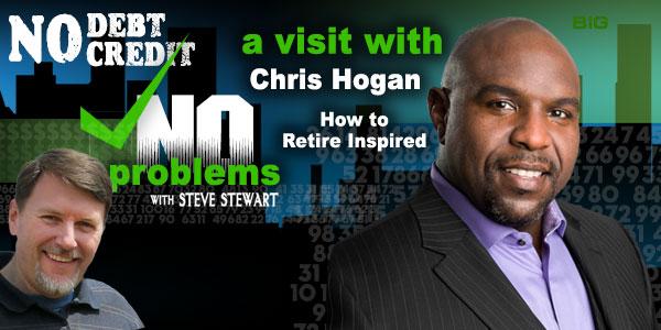 Chris Hogan, Dave Ramsey speaker, interview on Steve Stewart podcast