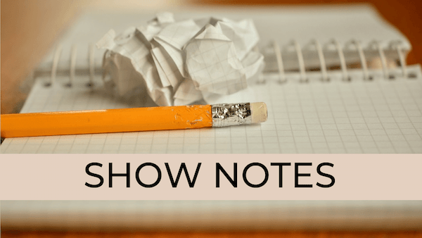 how to find show notes writer PME19 slide 11