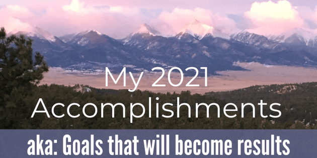 my accomplishments for 2021