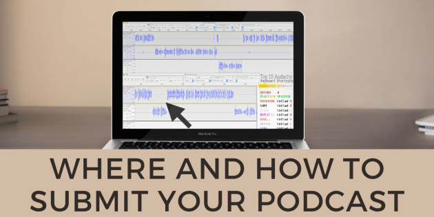 how to submit my podcast to apple, spotify, google, amazon