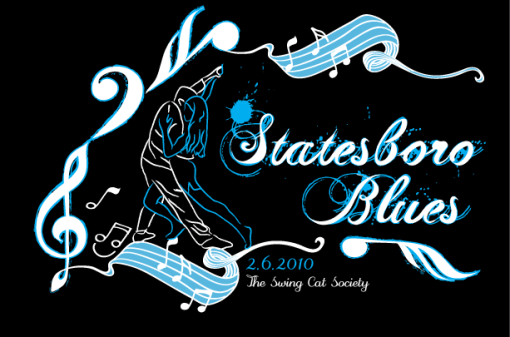 Statesboro Blues Logo Design