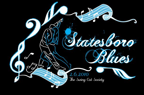 Statesboro Blues Logo Design