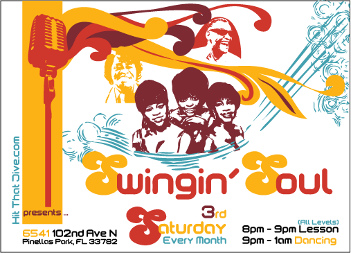 Swing'n Soul Flyer and Logo Design