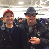 SHA Board Chairman, Robert Kiesman and SHA General Manager, Bob Baziuk at the 2015 Fishermen Helping Kids With Cancer Herring Sale