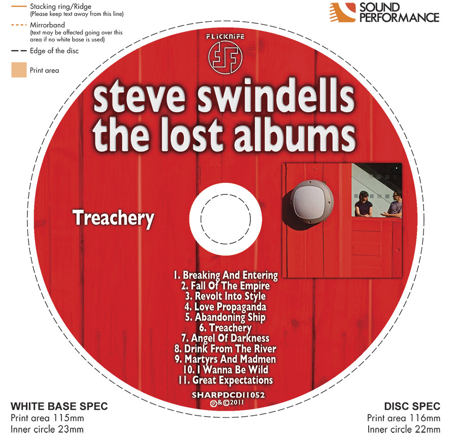 Steve Swindells' Sleeve Notes To 'The Lost Albums'. (3/4)