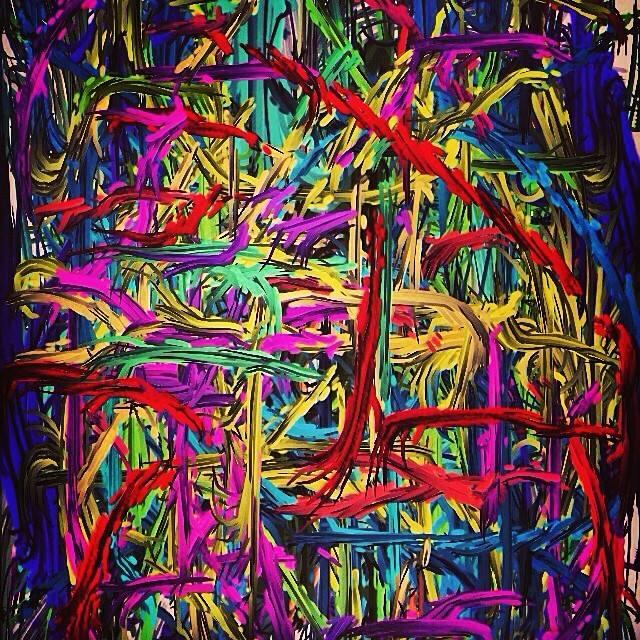 iPhone Phinger Paintings . June 2010 - June 2014 (2/6)