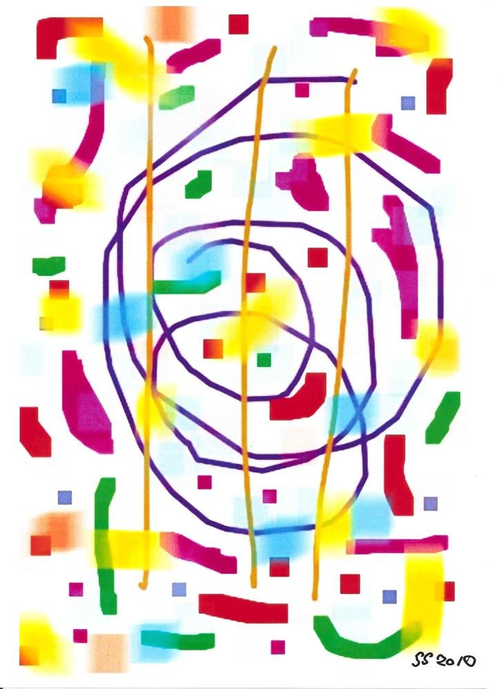 iPhone Phinger Paintings . June 2010 - June 2014 (4/6)