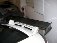 Carbon Fiber wing. All teh track junkies bought these