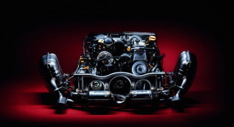 GT3 RS Engine