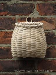 Ash splint wall basket