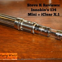 Innokin 134 Mini Review - a More Sensible 134 + iClear X.1