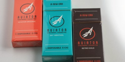 aviator test flight review e-cigarette packs