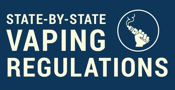 State by State Vaping Rules [Infographic]