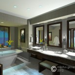 luxury suite model by steve wallet architect