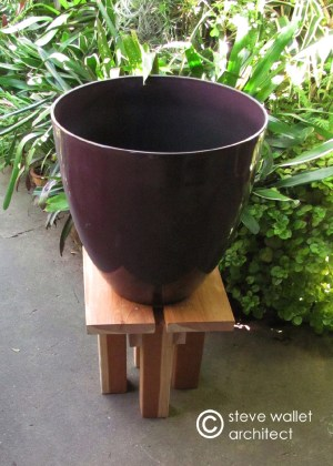 steve wallet architect plant stand 3 overall w pot 3-17-2013