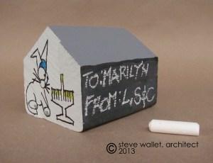 steve wallet architect holiday wood scrap house honukkah rt 11-13-2013