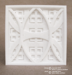 steve wallet architect 3D print tile 2015-7-19
